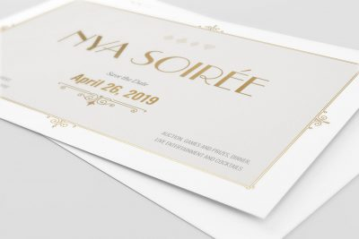 NYA 2019 Soirée Invitation (close up)