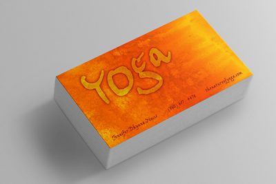 Nature of Yoga Business Card