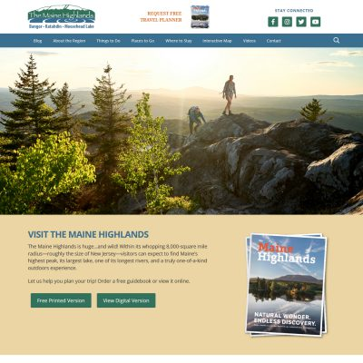 Visit Maine Highlands